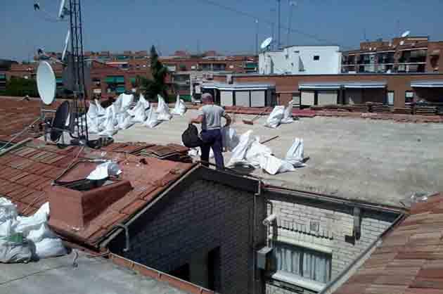 Rehabilitación de tejado de teja