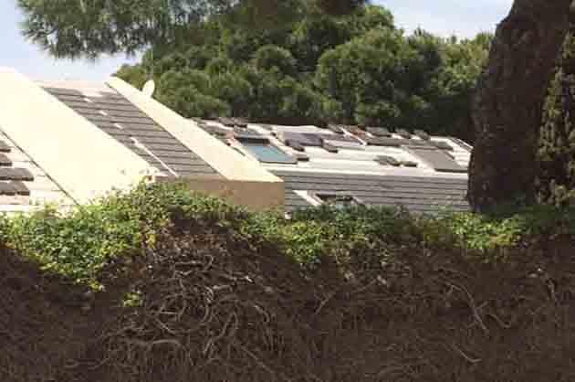 Instalación integral tejado casa
